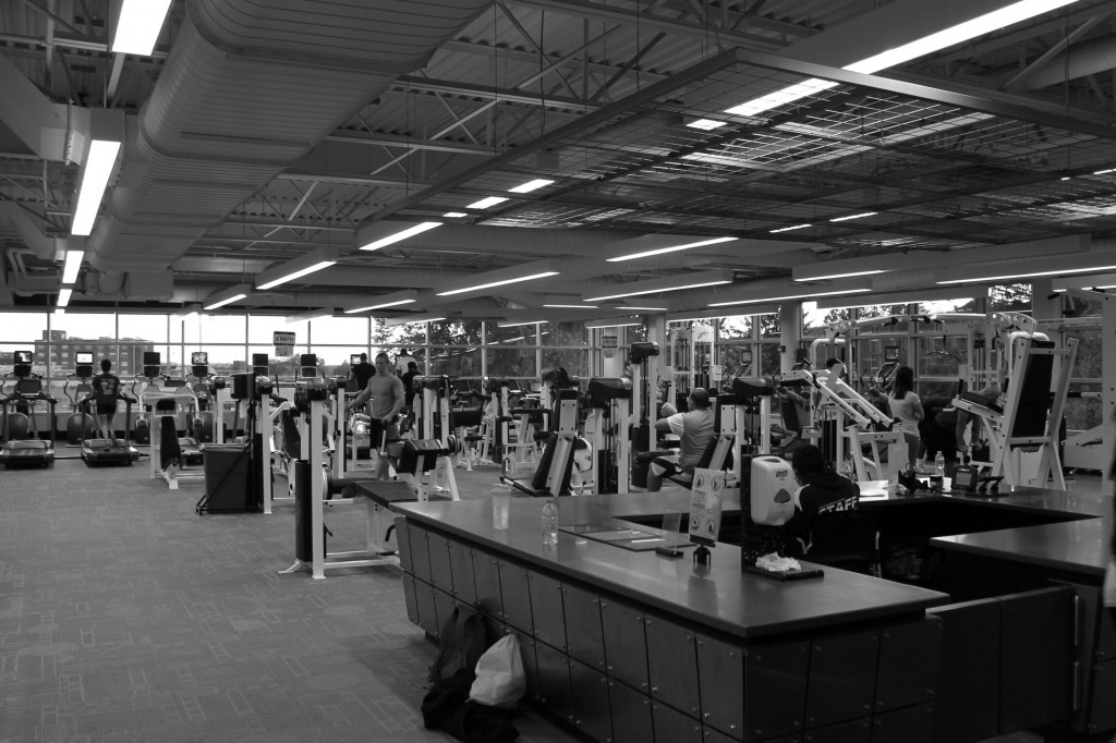 ESU's gym facilities offer a large variety of equipment for the health conscious student. Photo Credit / Sarah Borys
