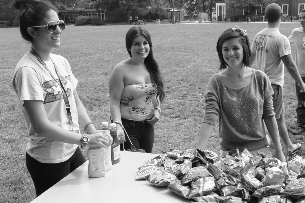 Left to right: Nicolette LaBoy, Kate Valenti, Kristen Piazza. Photo Courtesy / Kevin Skiltor