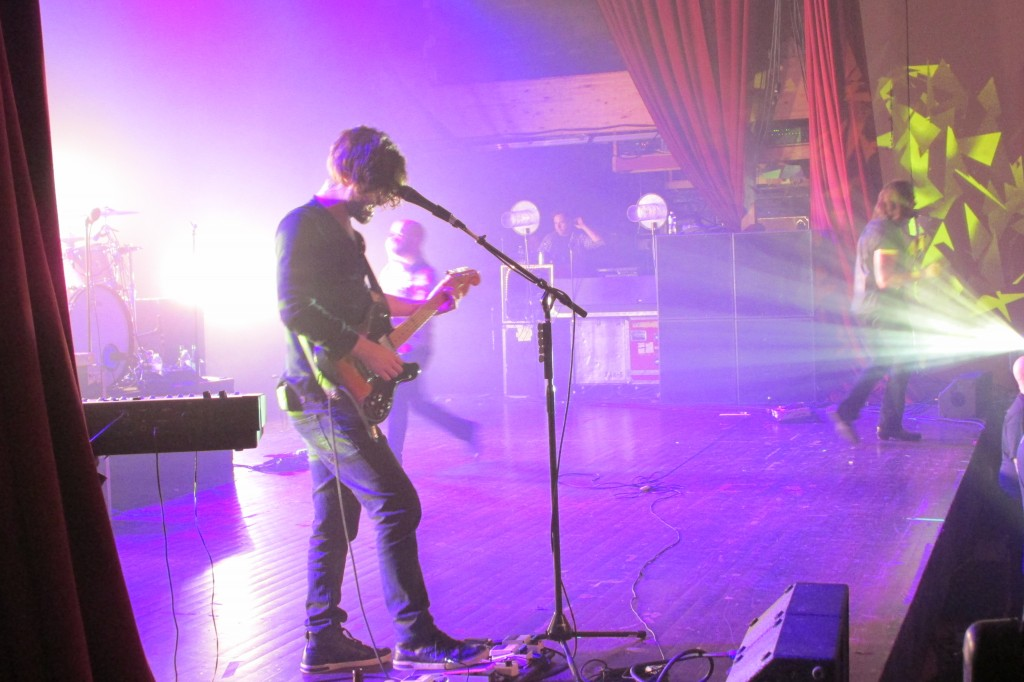 Taking Back Sunday performed on October 14 at the Sherman Theater.  Photo Credit / Crystal Smith