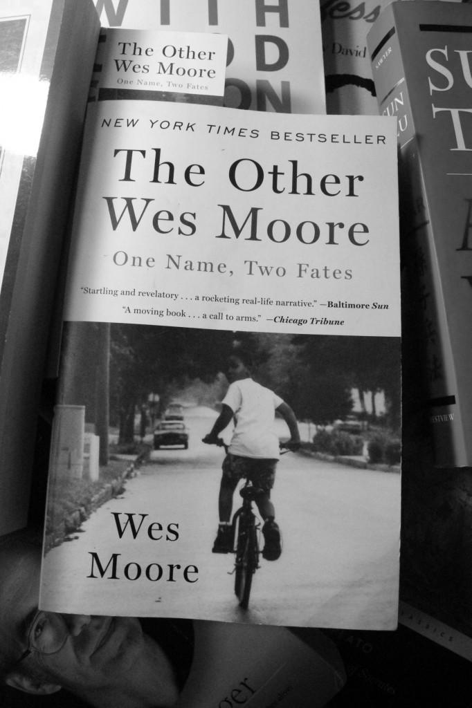 Wes Moore visits ESU on November 19. Photo Credit / Jamie Reese