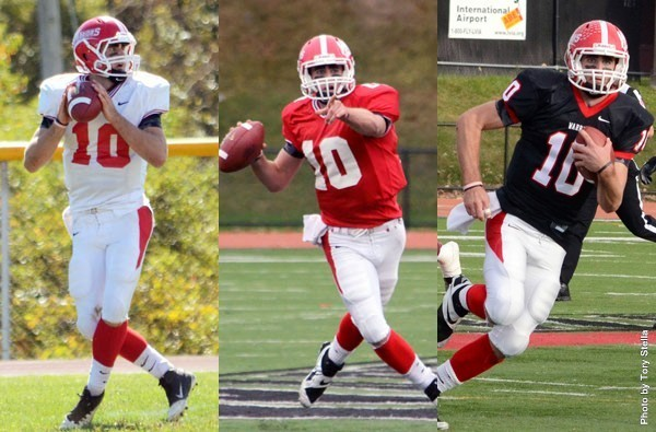 ESU quarterback Matt Soltes was named as a regional candidate for the Harlon Hill Trophy, given annually to the most valuable player in Division II. Photo Credit / Tory Stella