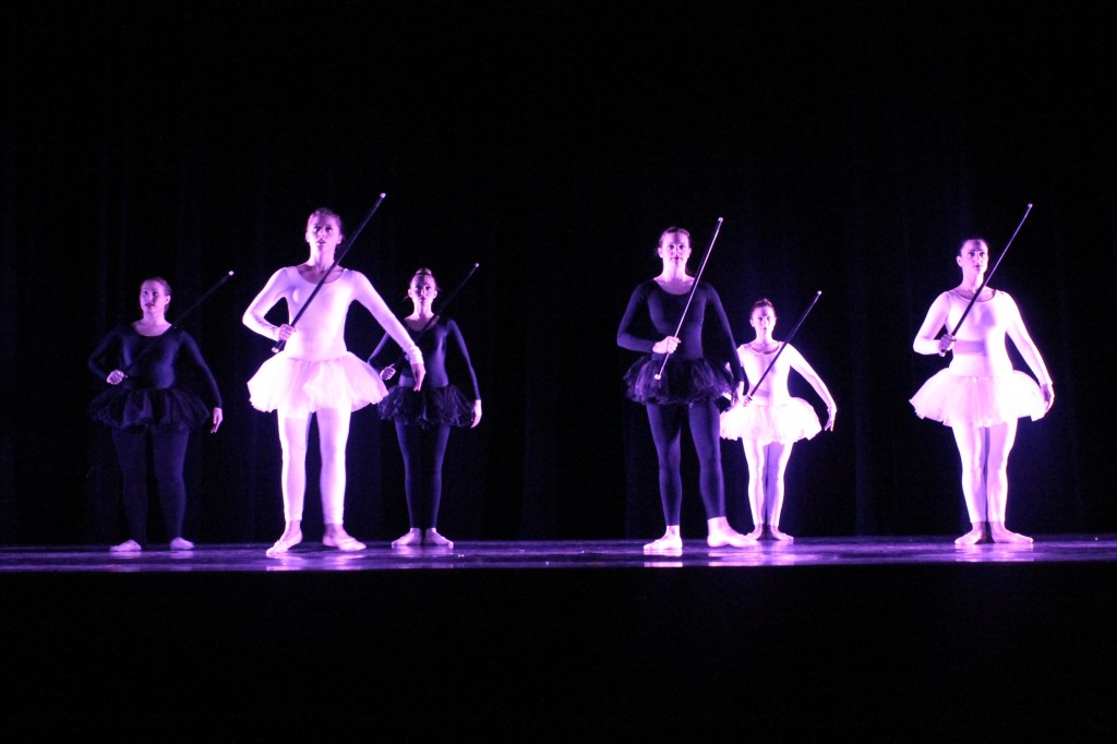 "University Dance Company performs ""A Game of Chess' at their fall showcase.  Photo Credit / Jamie Reese"