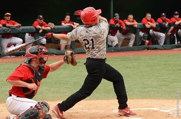 Outfielder Chris Knott is one of eight returning seniors for the Warriors. Photo Credit / Tory Stella