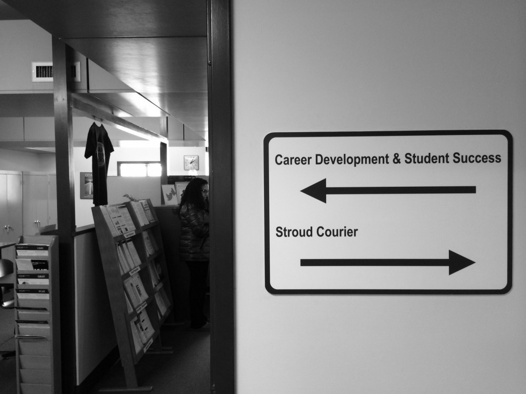 "Career Services has been redesigned and renamed the ""Career Development & Student Center."" Photo Credit / Victoria Krukenkamp"