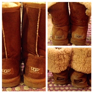 Ugg boots can be seen on every college campus. Photo credit / Alexandra Pliska