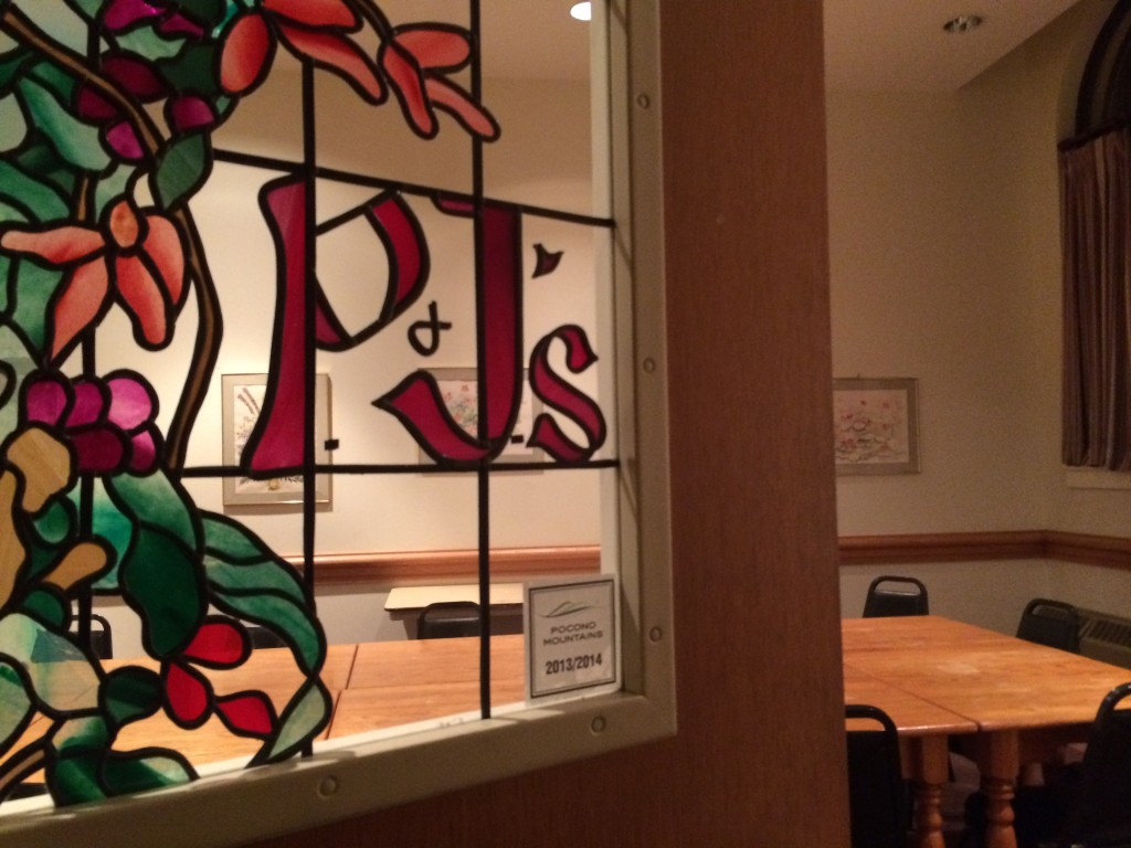 P & J's Café offers a restaurant-like feel.  Photo Credit / Audra Organetti