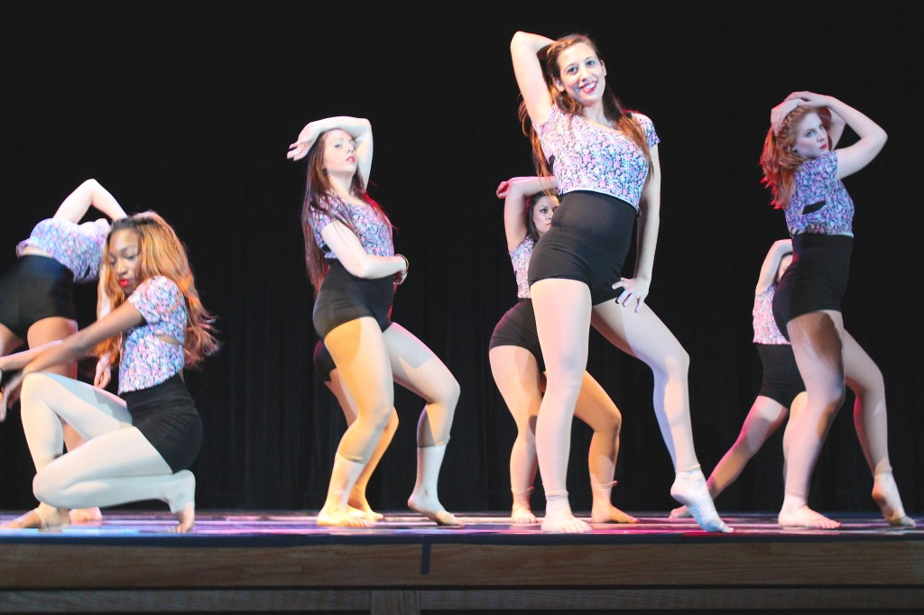 The team closed the show with a Beyonce medley. Photo Credit / Jamie Reese