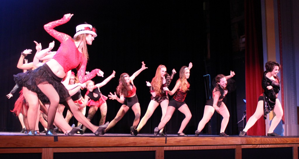 The Dance performed its 2014 showcase last Saturday in the Abeloff Center. Photo Credit / Jamie Reese