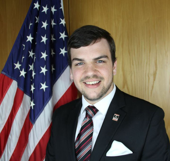Student Senate President Justin Amann announced he wll be running for reelection. Photo Courtesy of Student Senate