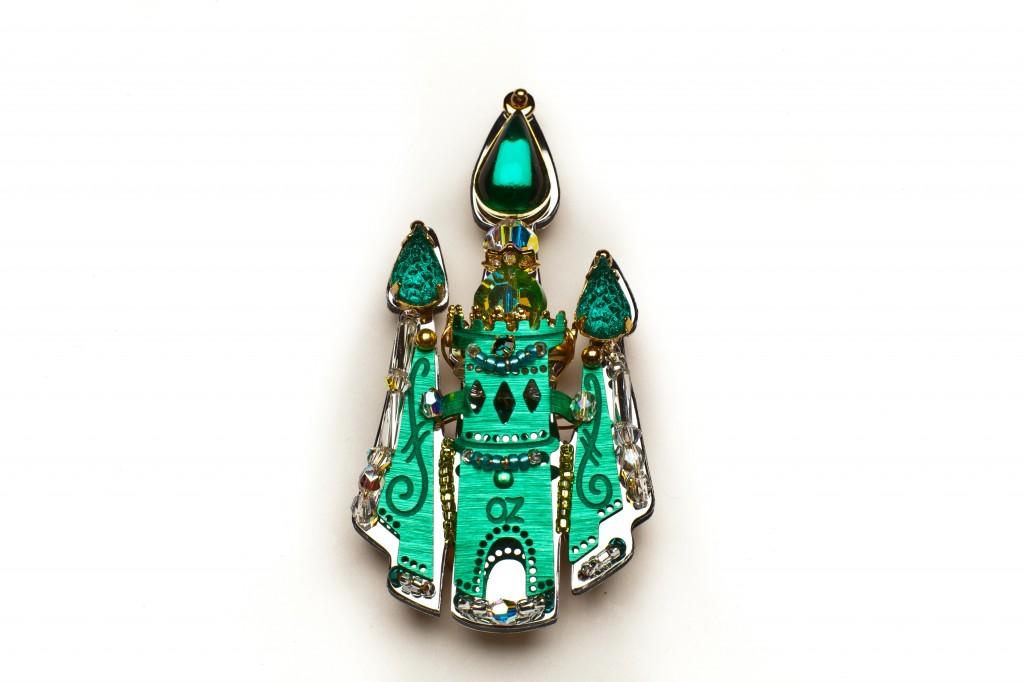 A handmade pins by LizTech.
