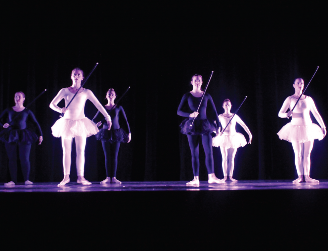 "University Dance Company performing ""A Game of Chess"" at their fall showcase last year. Photo Credit / Jamie Reese"