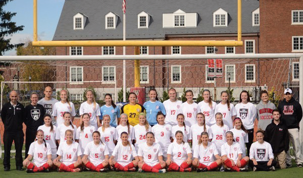 Women's Soccer finished their historic season with a 20-1-1 record and an ESU-record .932 winning percentage. Photo Courtesy / ESUWarriors.com
