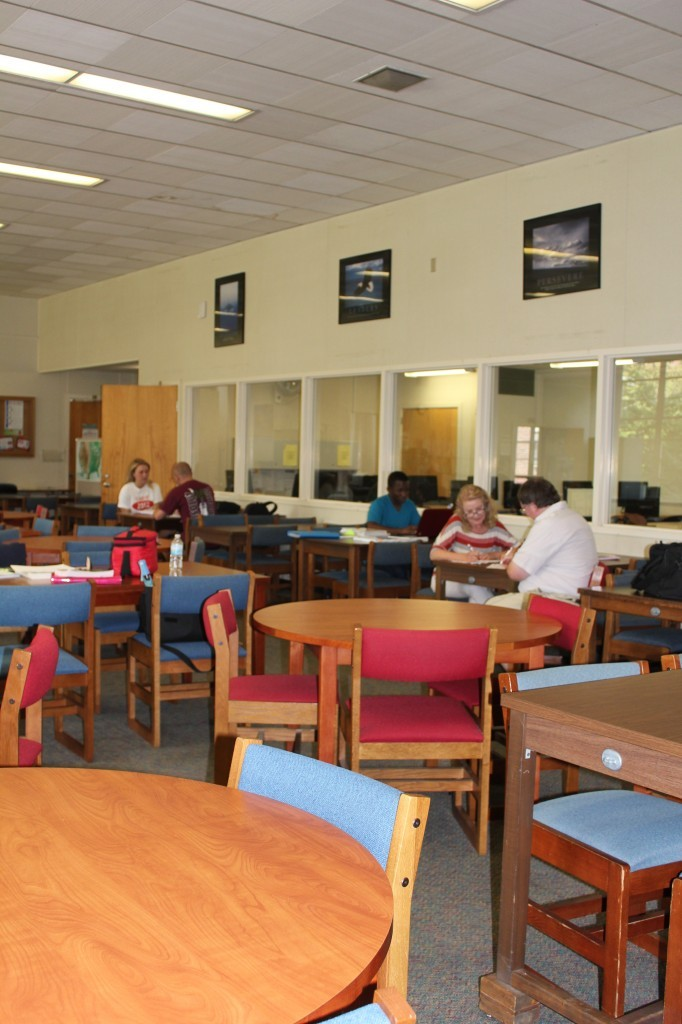 The Majors and Minors Fair will be held in the tutoring center in Rosenkrans East. Photo Credit / Kelly Dildine