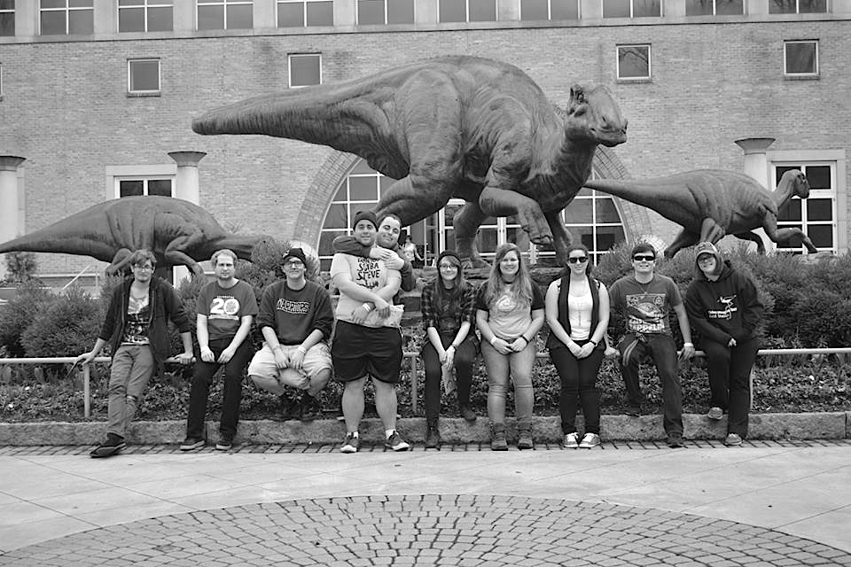 Marine Science Club and Biology Club members in front of the Zoo Atlanta. Photo Courtesy / Rebecca Carroll