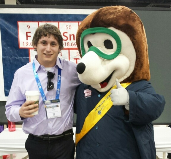 Eric Rosa at the ACS National Meeting and Exposition in Denver. Photo Courtesy / Eric Rosa