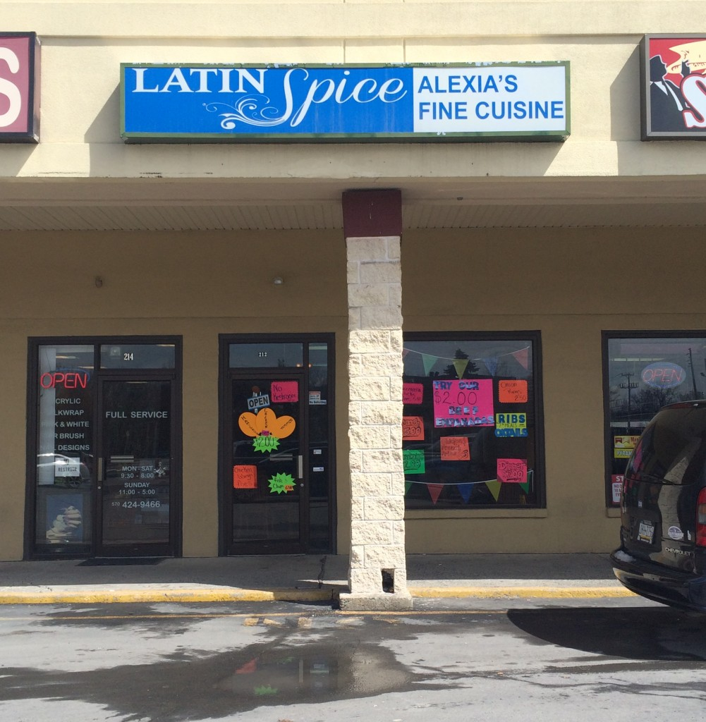 Latin Spice, a restaurant in East Stroudsburg. Photo Credit / Amy Lukac