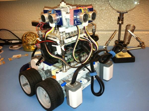The winning robot from 2014. Photo Courtesy / Rudolf Geosits