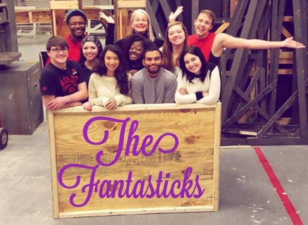 "The cast of ""The Fantasticks"" ready to get started. Photo Credit / Sara O'Donnell"