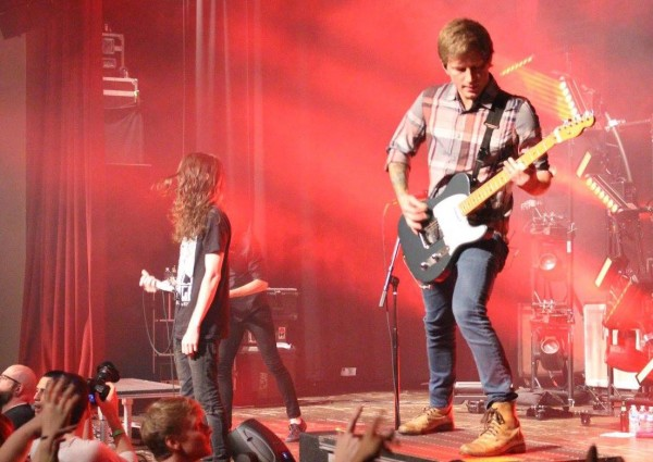 Mayday Parade was accompanied by The Maine and The Technicolors. Photo Credit / Amy Lukac