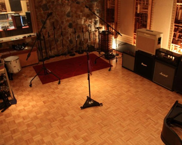 Studio B is where larger groups and bands record. Photo Credit / Soundmine Recording Studio