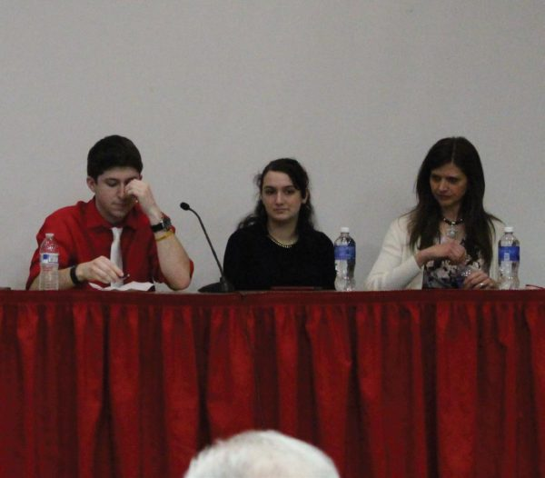 The panel accepted questions from the crowd. Photo Credit / Amy Lukac