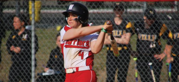 Sophomore shortstop Mary Wallick went three-for-six with two RBI in the doubleheader. Photo Credit / Ronald Hanaki