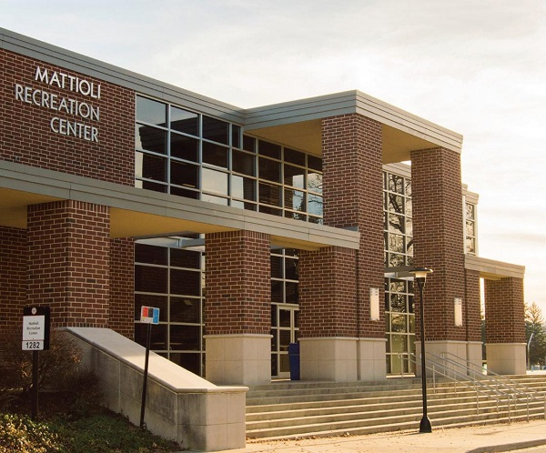 ESU students can enjoy a workout on campus at the Mattioli Recreation Center. Photo Credit / David Colon