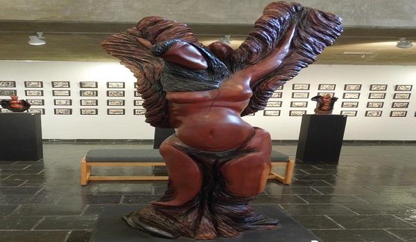One of Turrell's large sculptures. Photo Credit / Lauren Shook
