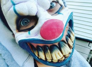 Are you afraid of clowns? Photo Credit / Kayla Esposito