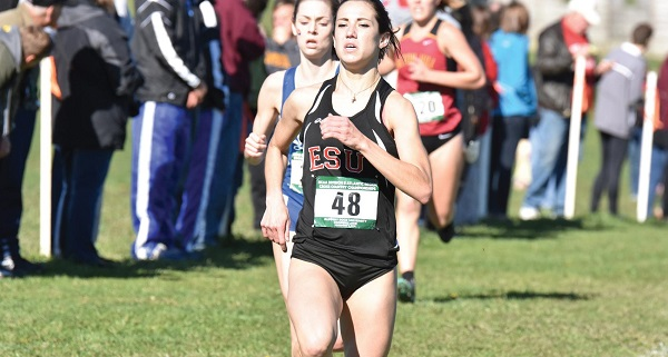 Junior Samantha Young was the only Warrior to earn All-Region honors at the NCAA Div. II Regional. Photo Credit / Ronald Hanaki