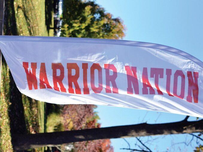 Where Warriors belong. Photo Credit / Lance Soodeen