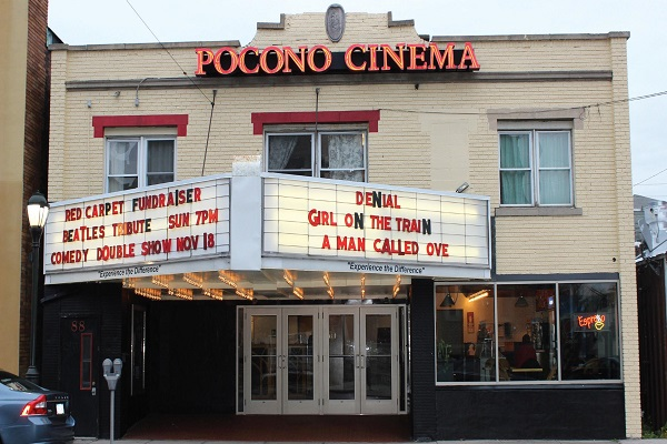 Due to harsh weather conditions, you have a second chance to attend the Film Race at the Pocono Cinema and Cultural Center. Photo Credit / Kathleen Kraemer