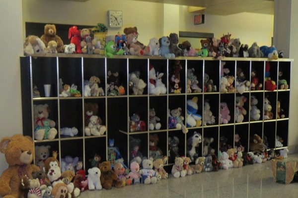 Teddy Bears are to be donated to many children. Photo Credit/ Edita Bardhi