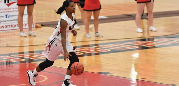 #2 Imani Brown led the Warriors with 19 points. Photo Credit / Ronald Hanaki