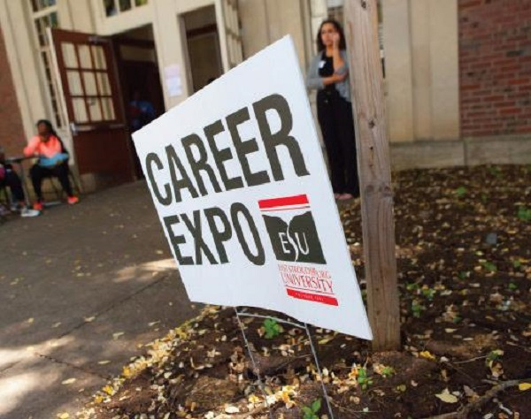 The Annual Career Expo is just one of the many resources the Career Development Center offers to ESU students and alumni. Photo Courtesy / East Stroudsburg University