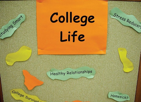 Some of the many stresses students stumble upon at college. Photo Courtesy / Wikimedia Commons