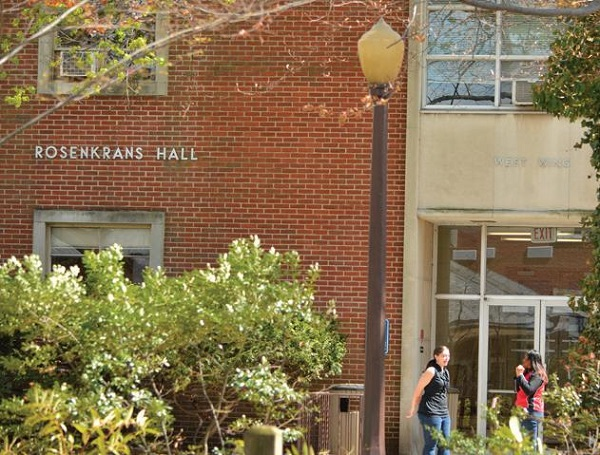 The Department of Academic Enrichment and Learning is located in Rosenkrans Hall. Photo Courtesy / East Stroudsburg University