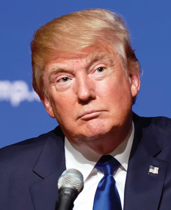 U.S. President Donald Trump Photo Courtesy / Wikimedia Commons