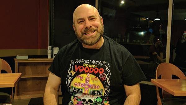 "Michael Strunk, East Stroudburg's local ""Devil's advocate"". Photo Courtesy / Fiona McKenzie"