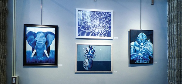 Artwork will remain on display in the Madelon Powers Gallery through April 7. Photo Credit / Adam Walker