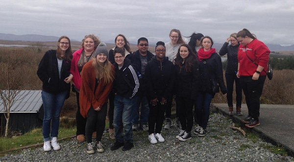 ESU Students Experience Ireland through Study Abroad Experience. Photo Credit / Dr. Carrie Lynn Maloney