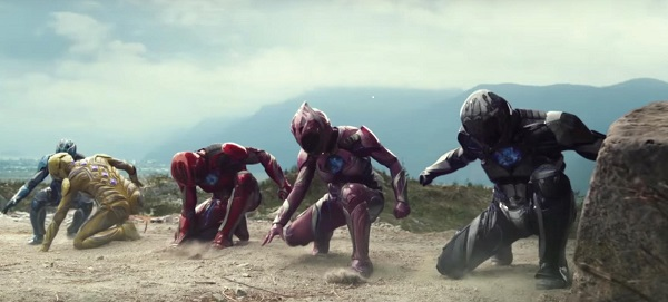 "This new take on the classic brings back memories for old ""Power Rangers"" fans. Still Image via Lionsgate Movies Trailer"