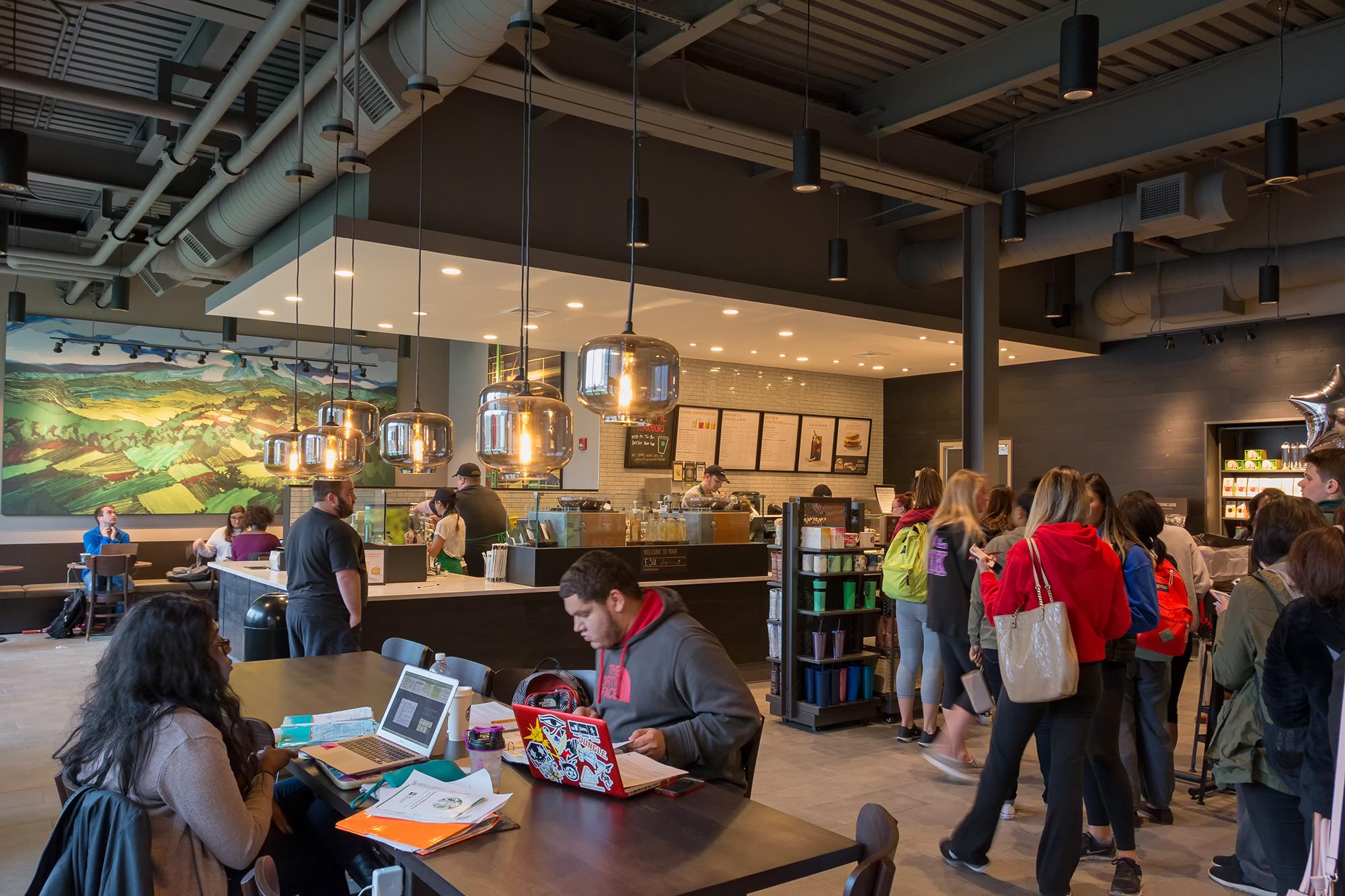 Starbucks Opening Day