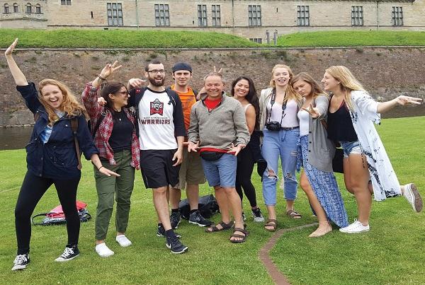 ESU students exploring Sweden Photo Courtesy/ Robert McKenzie