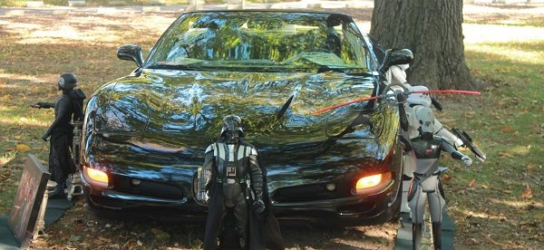 """Photo Credit / Richard MacTough Many of the car displays had themes such as """"Back to the Future,"""" """"Austin Powers"""" and of course """"Star Wars"""""""