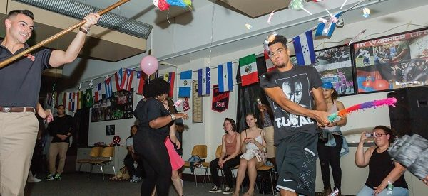 Photo Credit / ESU Flickr The Student Activity Association brought pinatas, food and music.