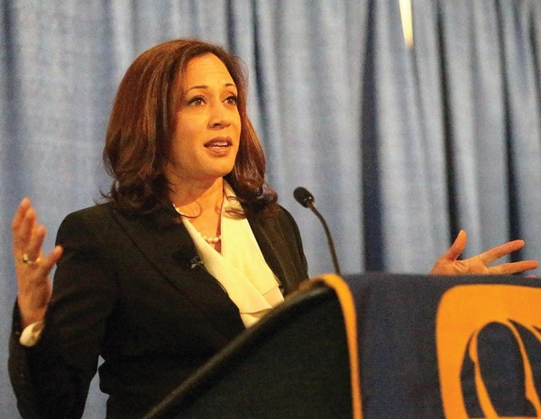 Current Senator of California, Kamala HarrisPhoto Courtesy / Wikimedia Commons