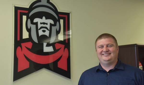 Interim AD Kevin Forde is the new face of Warrior Athletics. Photo Credit / Ronald Hanaki