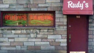 Enjoy a meal at Rudy's Tavern. Photo Courtesy / www.facebook.com/rubyspub/