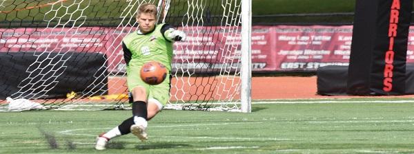 Photo Credit / Ronald Hanaki Junior goalkeeper Will Boerema is having a stellar season in goal.